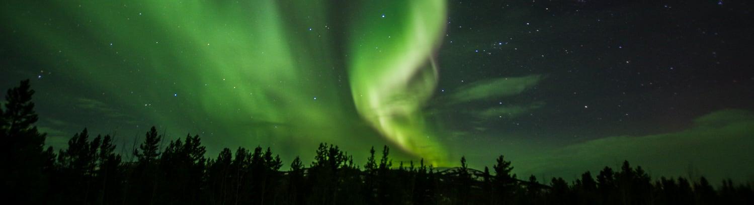 Yukon aurora borealis