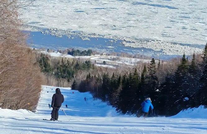 Ski Le Massif In Quebec