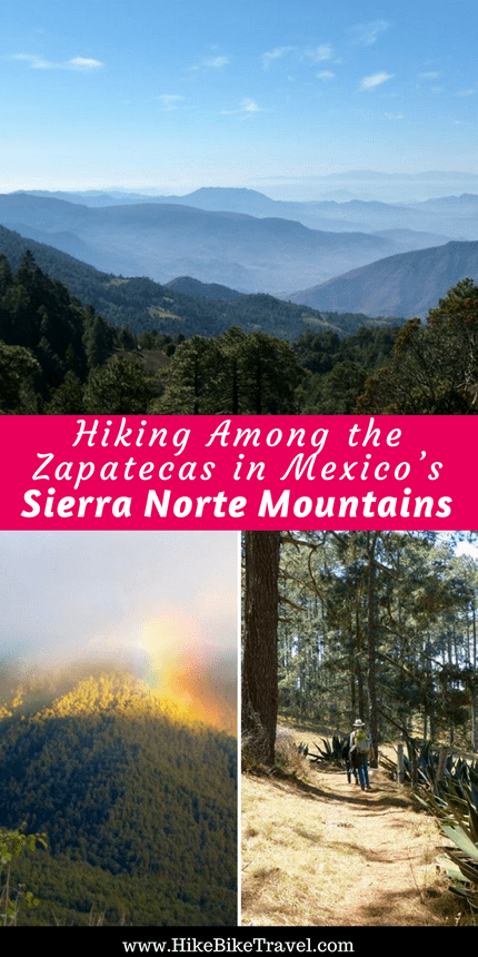 Hiking Among the Zapatecas in Mexico's Sierra Norte Mountains