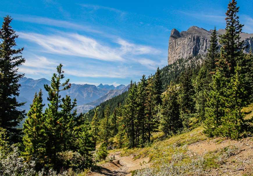 Good views on the Yamnuska hike
