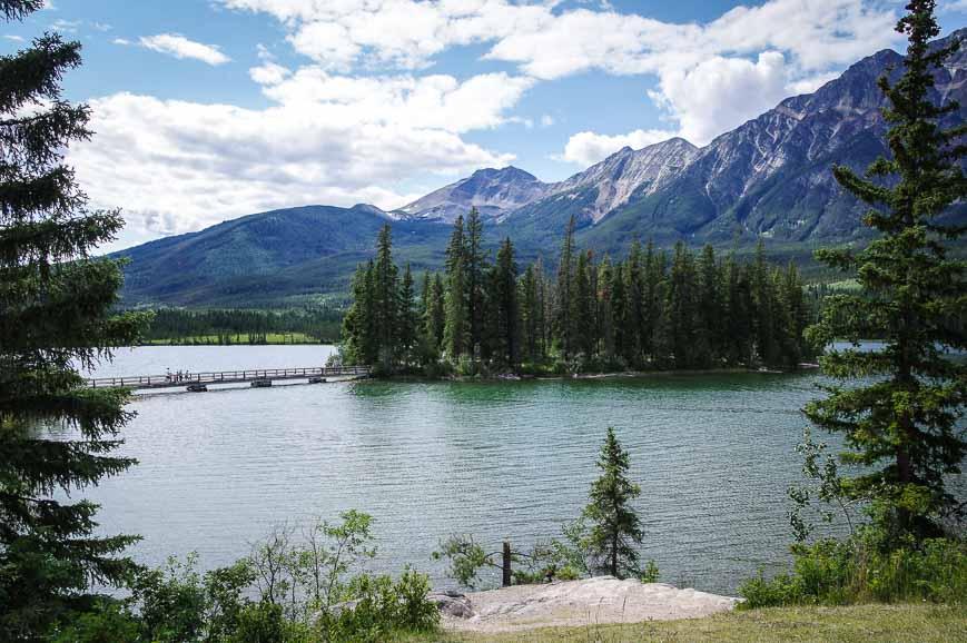 Beautiful Pyramid Lake