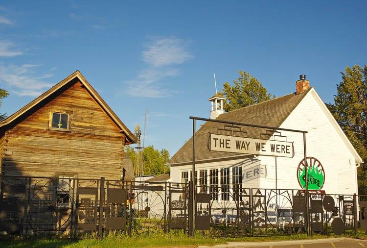 Pioneer Village in Sundre Alberta