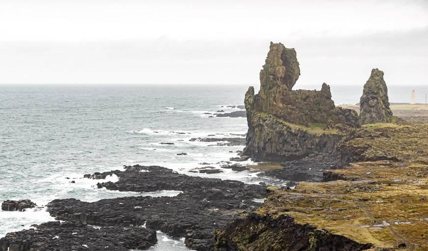 Drama along the southwest coast of the peninsula