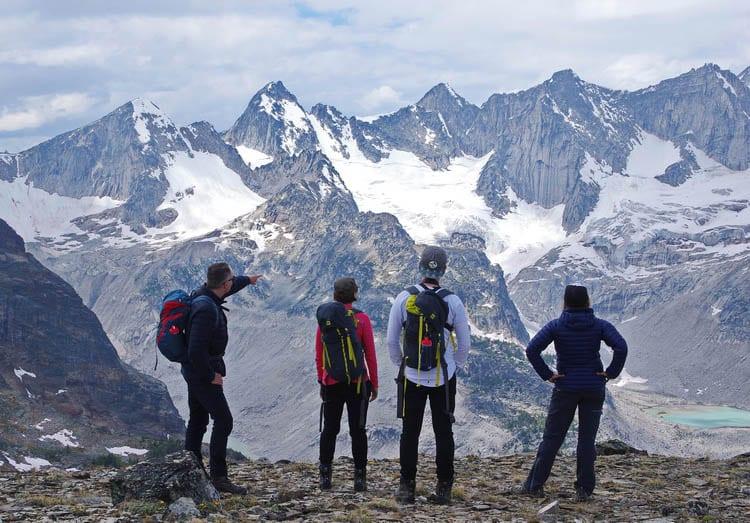 CMH Bugaboos Heli-Hiking