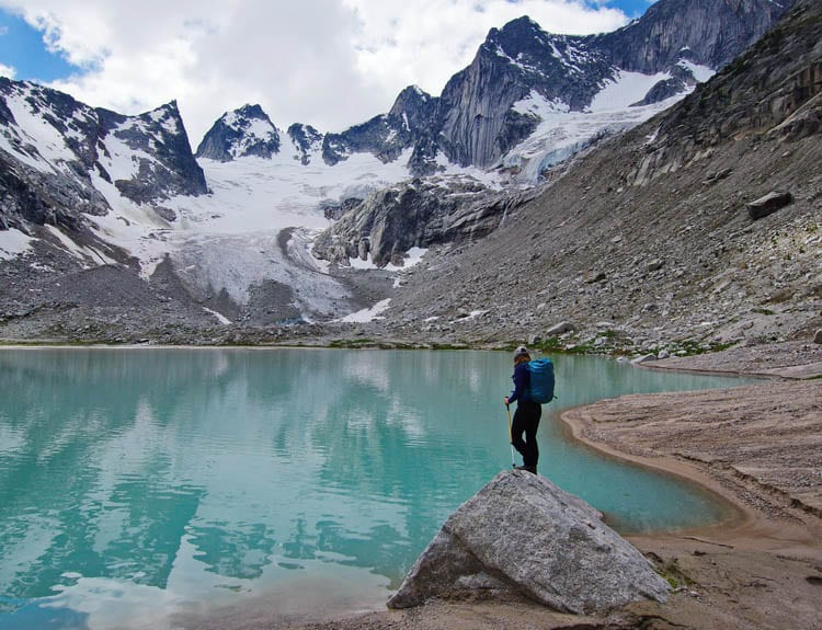 CMH Bugaboos Heli-Hiking with a stop at Wallace Lake