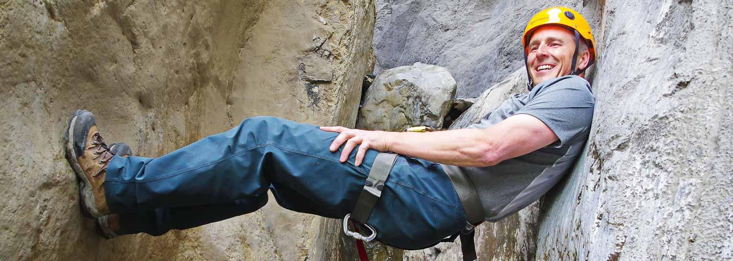 Jasper canyoning