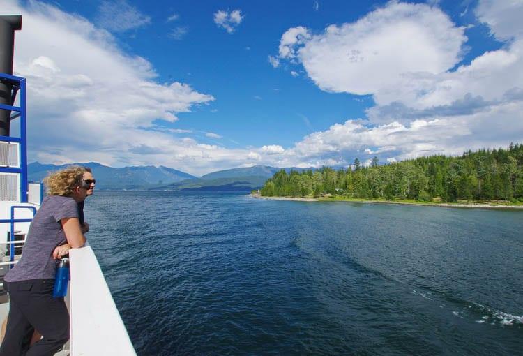 Enjoying The View Of Kootenay Lake