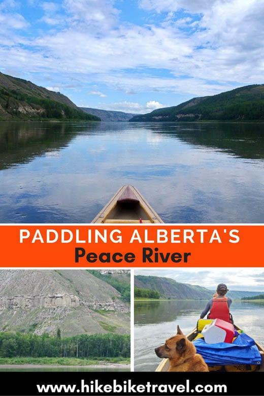 Paddling Alberta's Peace River