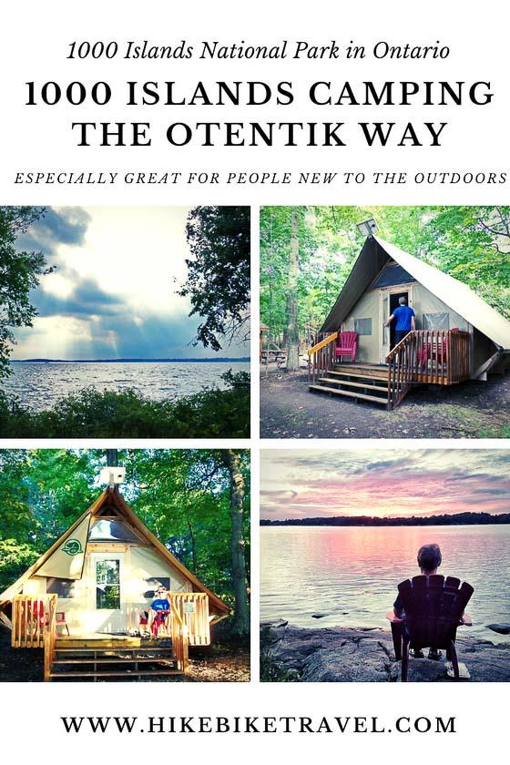 1000 Islands camping the oTENTik Way
