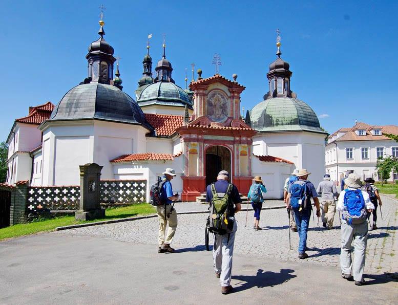 The beautiful Klokoty Monastery