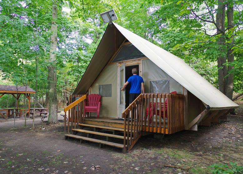 OTENTik Camping In 1000 Islands National Park