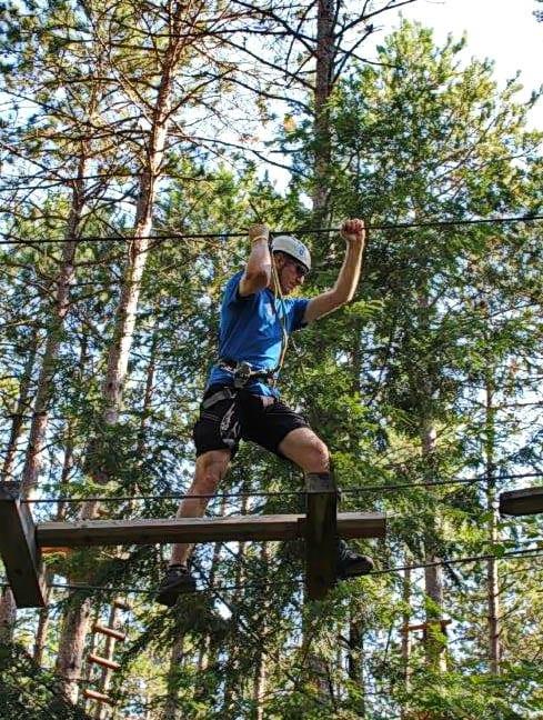 Discovering Your Inner Monkey at Treetops Trekking, Ganaraska Forest
