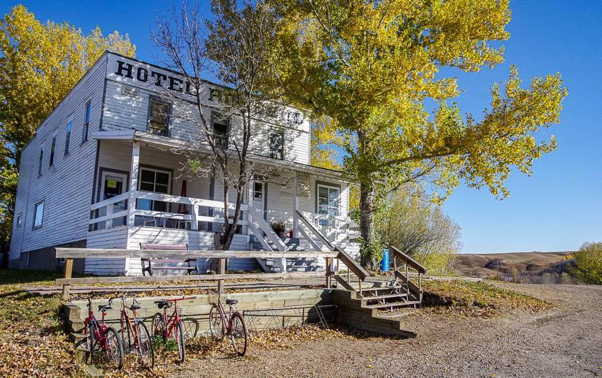 The Hotel Rosebud was built around 1912