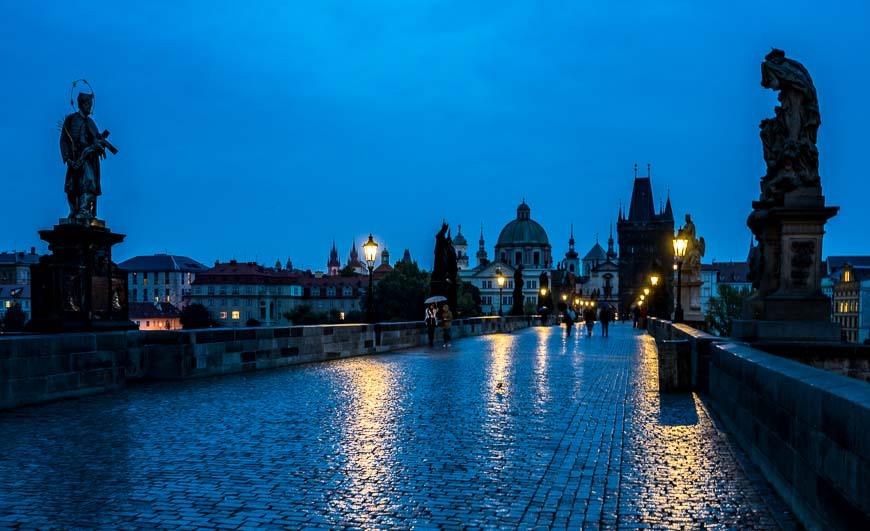 Charles Bridge, Prague At 6 AM