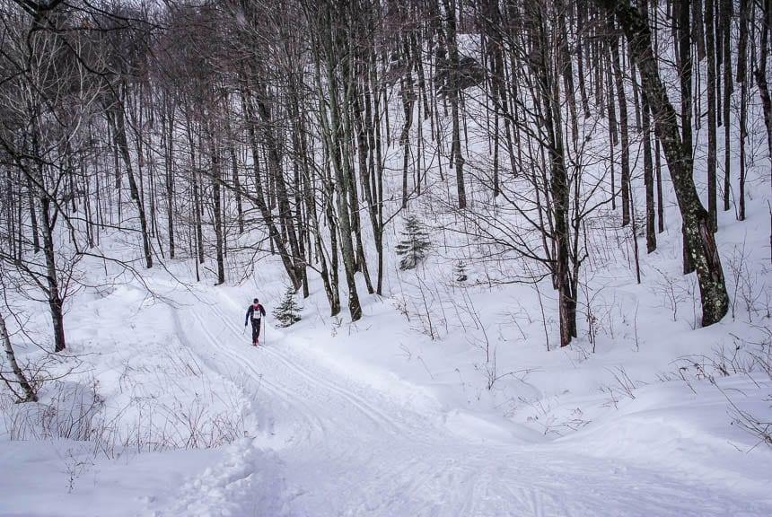 The Canadian Ski Marathon In Quebec