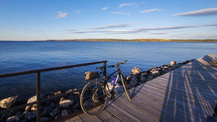 Finishing on the shores of Leech Lake
