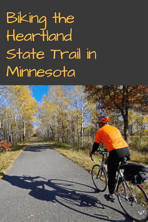 Biking the Heartland State Trail in Northern Minnesota