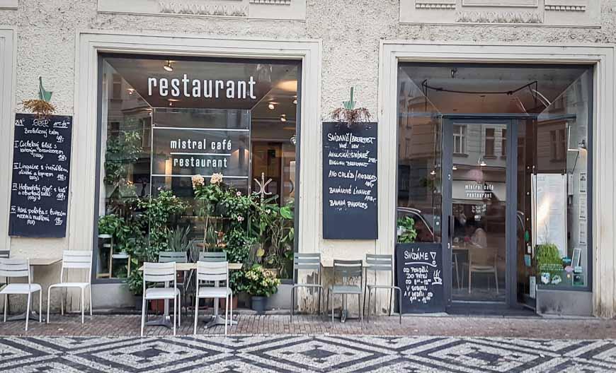 Mistral Restaurant in Prague