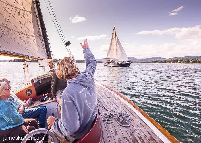Sailing In Acadia National Park