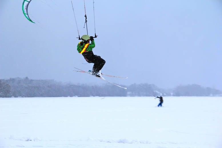 Kiteboarding at the Elmhirst Resort