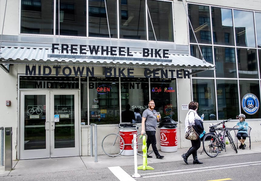 Bike rentals are easy to do in Minneapolis