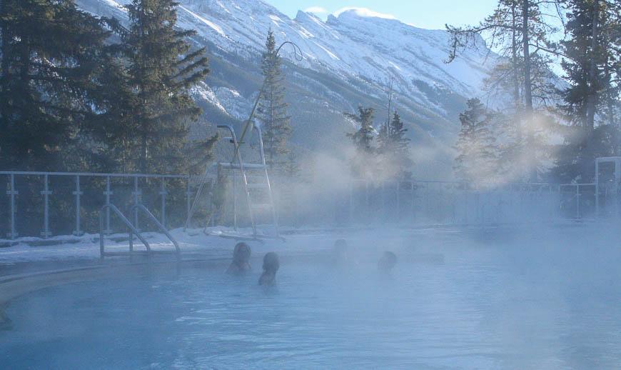 Banff Hot Springs - Photo credit: Banff Lake Louise on Flickr
