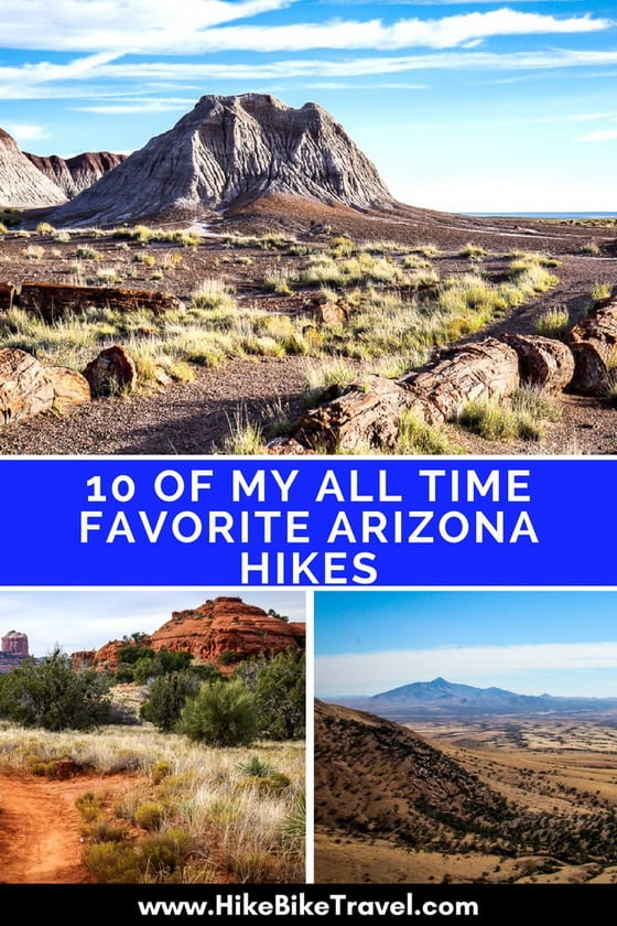 10 of My All Time Favourite Arizona Hikes - these ideas include epic & family-friendly hikes with everything in between