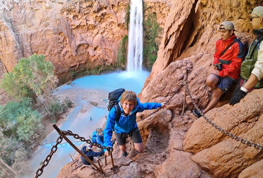 Havasu Falls is one of my favourite hikes in Arizona
