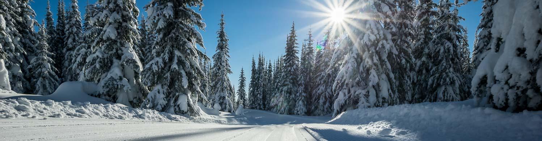 Sun Peaks cross-country skiing