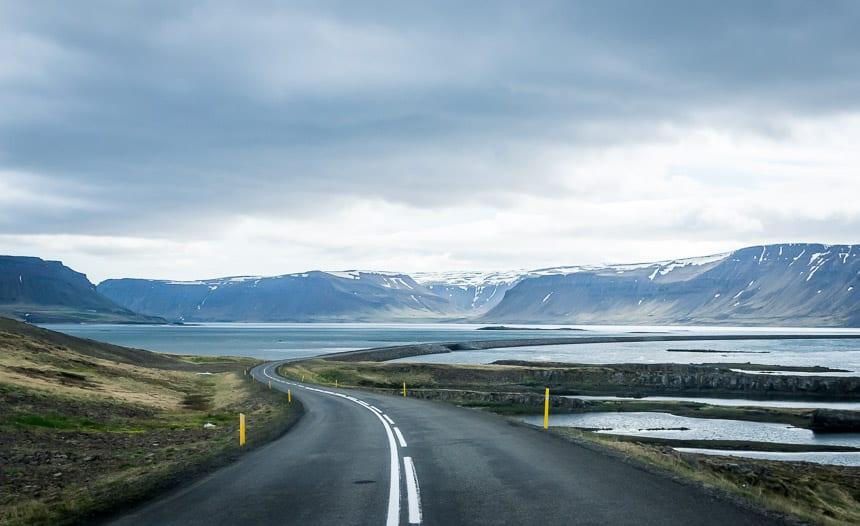 A brooding landscape in the Westfjords