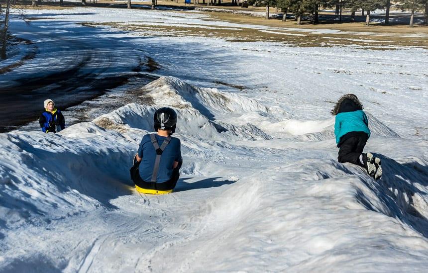 You don't have to be a kid to have fun on the luge at Cypress Hills