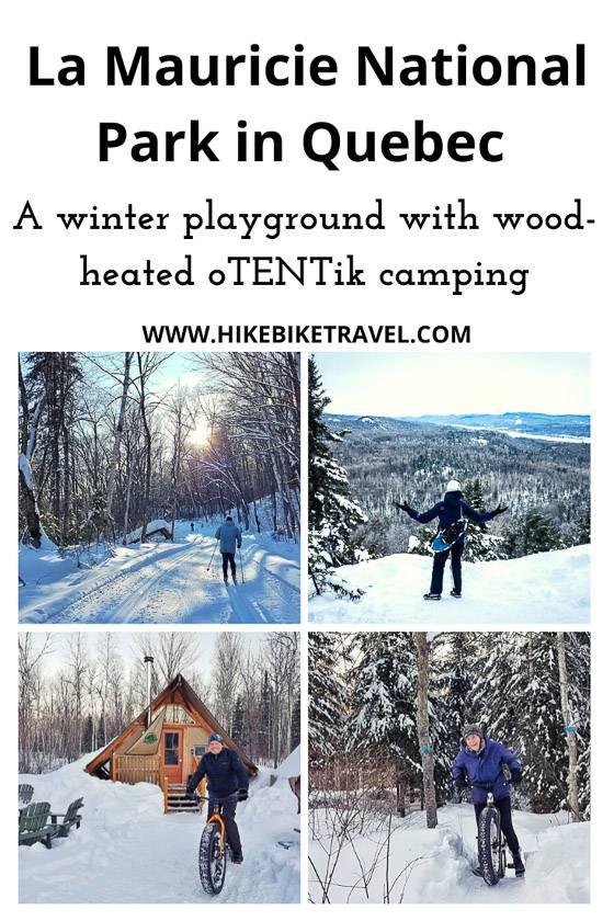 La Maurice National Park - Quebec's winter playground