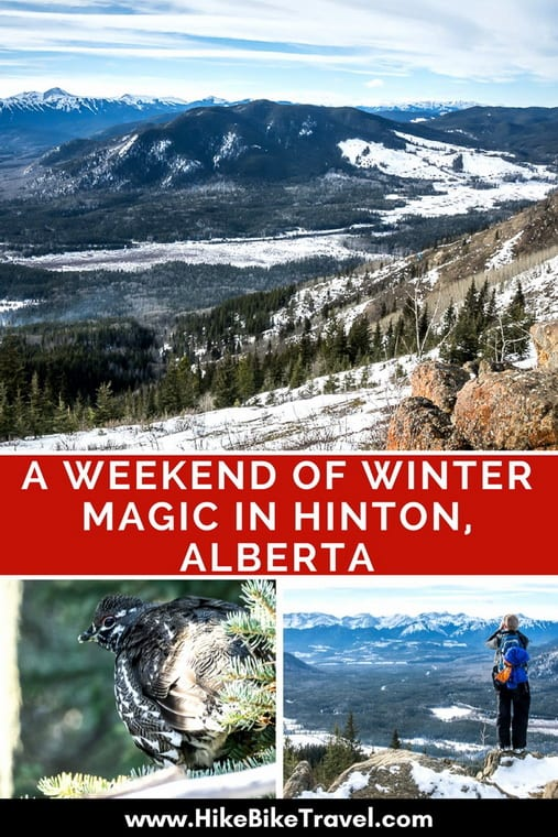 A weekend of winter magic in Hinton, Alberta includes skating on an outdoor oval, snowshoeing and fabulous cross-country skiing