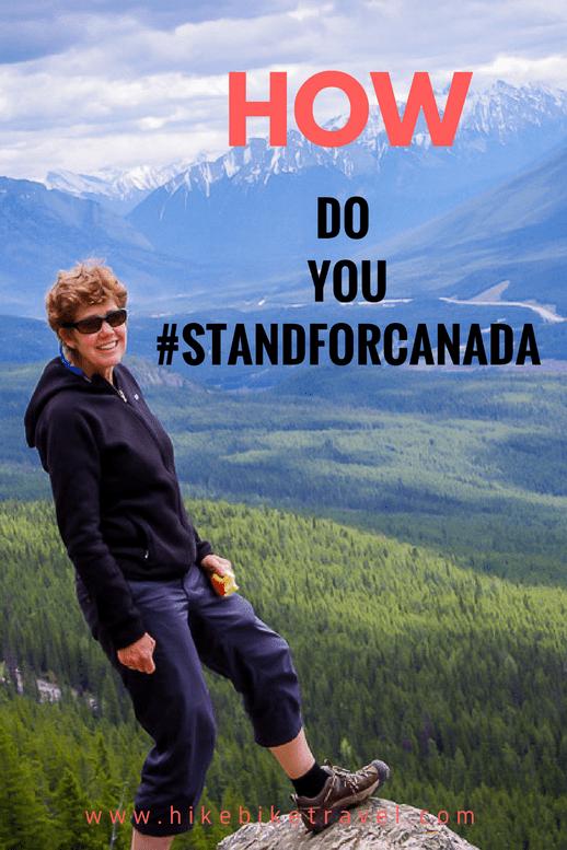 How do you #StandForCanada?