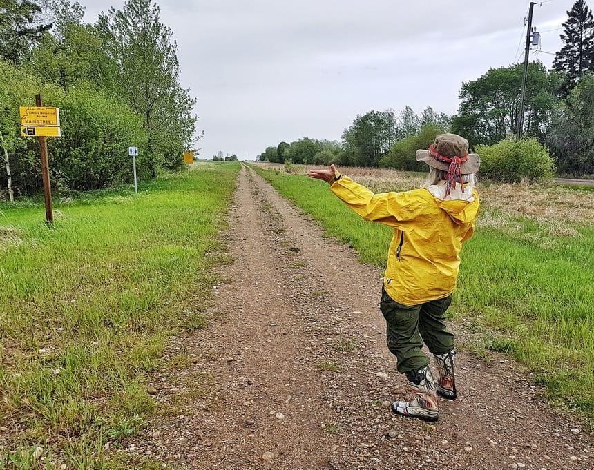 Exploring the Iron Horse Trail Alberta