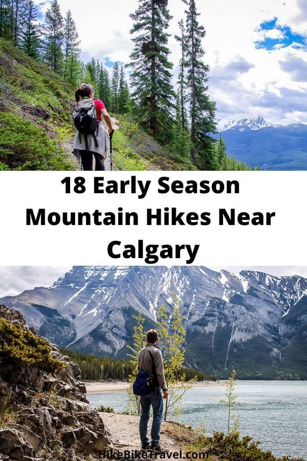 5 early season mountain hikes near Calgary & ideas for 13 more