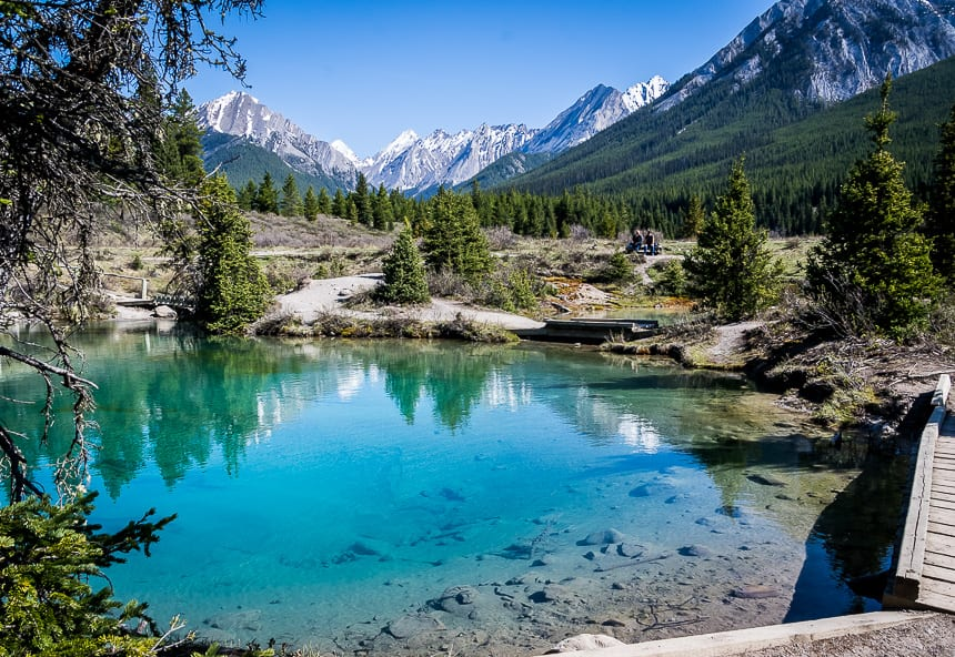 The Ink Pots Hike via Johnston Canyon