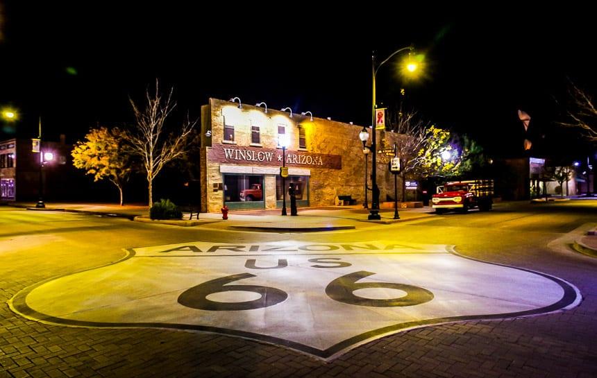 Downtown Winslow, Arizona