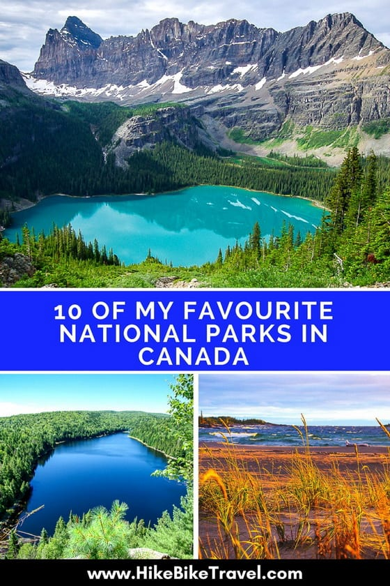 10 of My Favourite National Parks in Canada