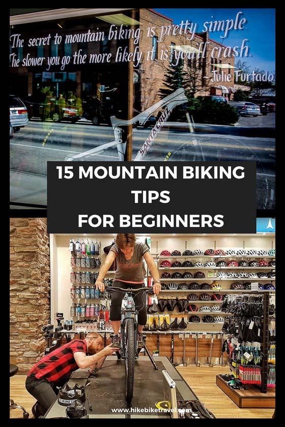 15 mountain biking tips for beginners