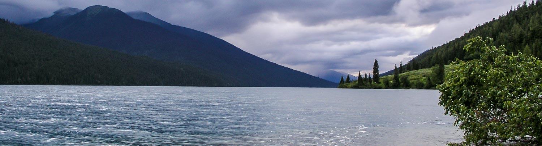 Bowron Lakes, BC canoe trip