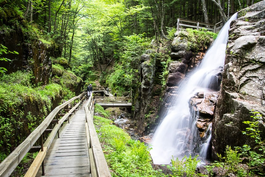 The Fabulous Flume Gorge Hike in Franconia Notch State Park