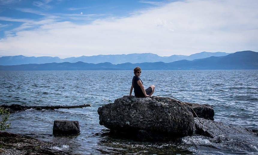 Beautiful Flathead Lake In Montana