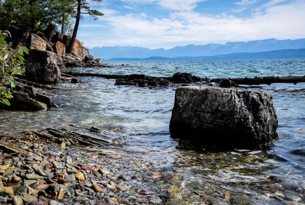 A Summer Visit to Flathead Lake & West Shore State Park in Montana