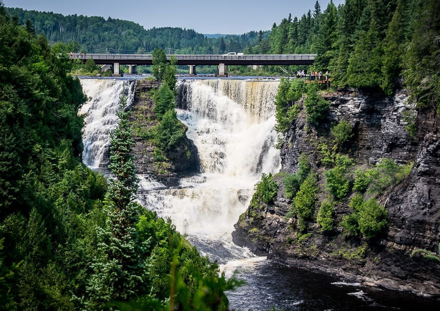 Beautiful Kakabeka Falls Near Thunder Bay