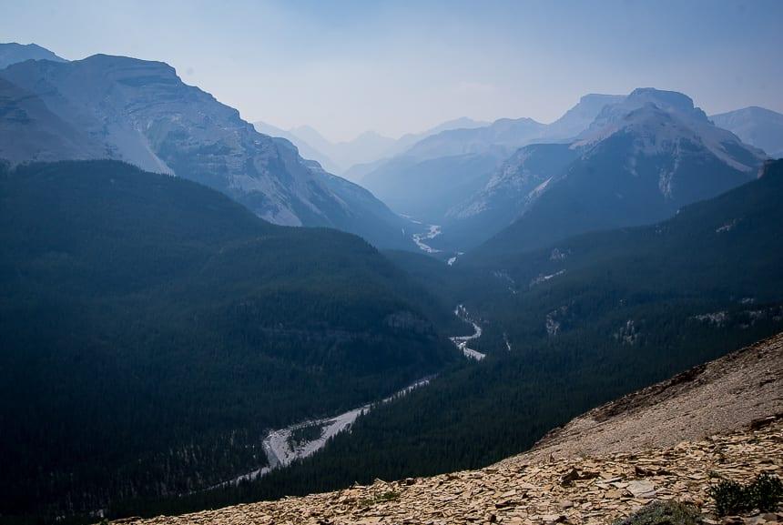 Grand views from Nihahi Ridge
