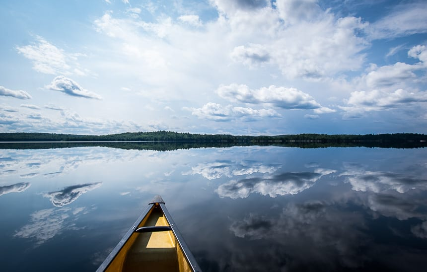 A Week Long Canoeing Trip in Quetico Provincial Park