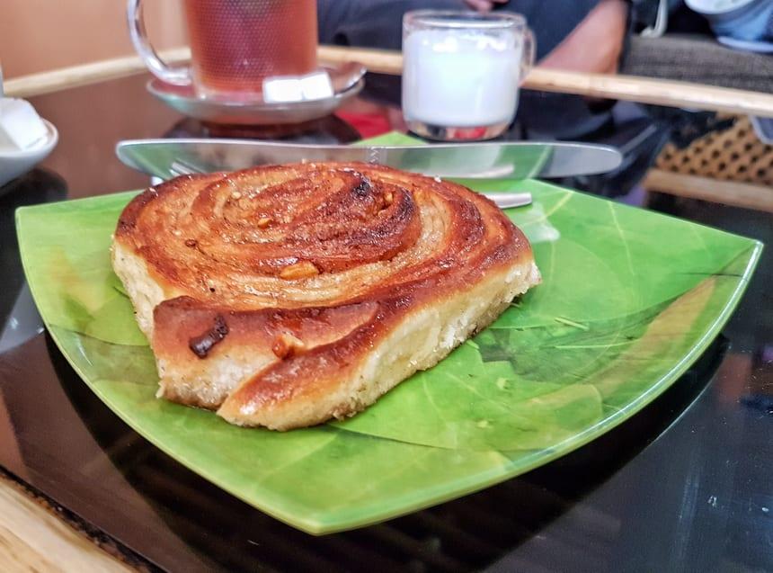 Cinnamon roll time in Leh