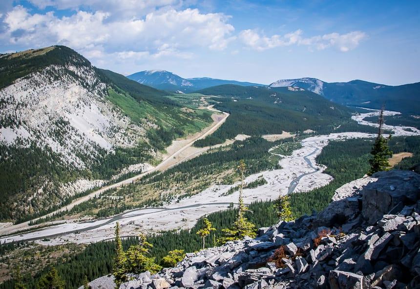 Fabulous Views From The Forgetmenot Ridge Hike