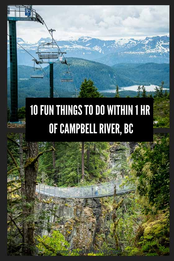 10 fun things to do within one hour of Campbell River, BC